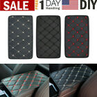 Armrest Cushion Cover Protector Center Console Box Pad Leather Car Accessories