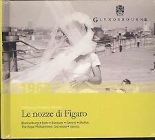 Wolfgang Mozart Le Nozze di Figaro CD NEW Glyndebourne chorus Blakenburg
