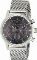 Tommy Hilfiger Men's 1790877 Silver-Tone Stainless Steel Watch Chronograph