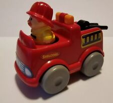 Shelcore 1989 Fire Ladder Truck & Fireman