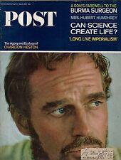 1965 Saturday Evening Post July 3 - Charlton Heston; Burma Surgeon; Viet Nam