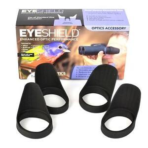 2 Pairs Field Optics Bino Standard Eyeshields Bird Watch Eye Cups B008 Twin Pack