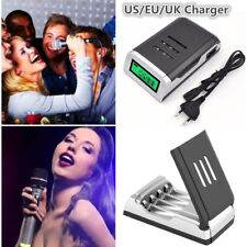 4 slots Intelligent Battery Charger For AA /AAA NiCd NiMh Rechargeable Batteries