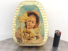 Scatola di latta blechdose boite tole tin box vintage Dufour