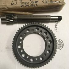 QUAIFE 5.70:1 FINAL DRIVE RING PINION HONDA B16 DOGGED FOR DOG ENGAGEMENT KITS
