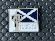 PINS PIN BADGE SPORT RUGBY CLUB FIVE NATIONS CHAMPIONSHIP