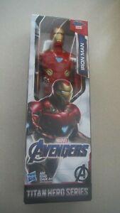 Marvel Avengers IRON MAN Titan Hero Series 12-inch Figure New In Box AGE 4+