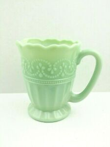 The Pioneer Woman Timeless Beauty Jade Glass Creamer Pouring Cup Home Kitchen