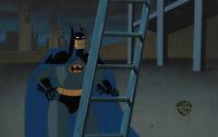 Batman Animated Series Original Production Cel Batman-The Laughing Fish