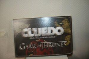 Spiel Cluedo Games Of Trhones Hasbro Grand Detectives Game Board Neu