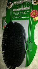 Karlie Dog Grooming currycomb 13 cm Brush Care for short Coats Medium rrp £26.99