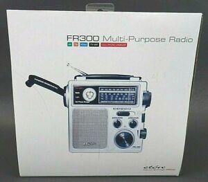 NIB Eton FR300 Multi-Purpose Emergency Crank Radio AM/FM  WEATHER VHF NEW N BOX