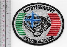 NATO Tiger Meet 2002 Potugal Belgium Air Force 301st Tiger Squadron Beja Airbase
