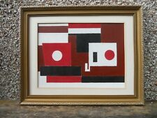 More details for british modernist abstract painting - tunstall whitaker