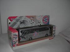 Dickie 1/43 Travego Mannschaftsbus FC Bayern München Reisebus Bus Coach Team
