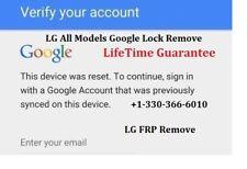 Remote LG G3/G4/G5/G6/K7/K10/K20/Stylo2/3/Stylus/V10/V20 Google Lock  FRP Remove