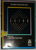 EXTRA by Delta Technology - load up to 26 TSRs in memory space of 1. For IBM PC.