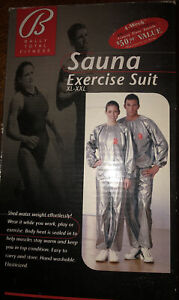 BALLY TOTAL FITNESS SAUNA EXERCISE SUIT XL-XXL NEW
