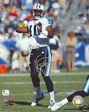 Vince Young Autographed Tennessee Titans 8x10 Photograph