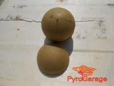 "10 x 4"" Paper Ball Shell Kugelhülsen Hemis Hemispheres Casings Aerial Shell"