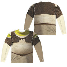 "Shrek ""Shrek Costume"" Double Sided Dye Sublimation Long Sleeve T-Shirt"