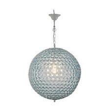 "D20"" Crystal-Like Round Pendant Light Blue  - DT73812BLUE"