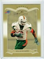 Willis McGahee #1/5  RC 2003 Donruss Classics National Convention Embossing #176