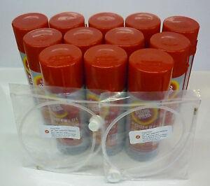 JETSKI FLUID FILM - TWELVE PACK - RUST preventative spray - 12 Cans & 2 Wands