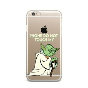 Yoda Silicone Case For All Apple iPhone 4s 5s 5c SE 6s 7 8 Plus X XS Max XR Snap
