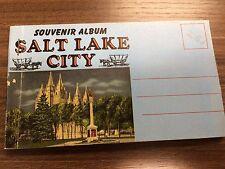 Souvenir Post Card Album - Salt Lake City - 1950s