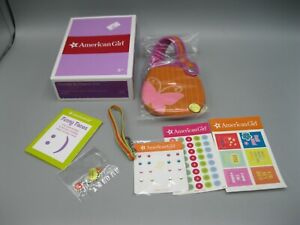 """2007 American Girl Sticker And Charm Set - For 18"""" Dolls Retired"""