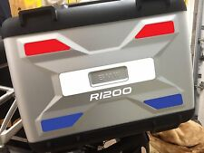 REFLECTIVE VARIO PANNIER PANELS BMW R1200GS LIQUID COOLED STICKERS DECALS