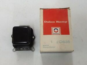 GM 1963-1972 NOS voltage regulator D635 #1119515