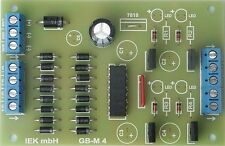 GBM 4, 4-fach Gleisbesetztmelder Opto, digital + analog, IEK, NEU!