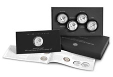 2017 American Liberty 225th Anniversary Silver 4 Four-Medal Set (w/Box and COA)