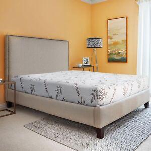 "RV Bunk Bed 6"" Memory Foam Mattress Upgrade Gel Infused Cooling Top Camper"