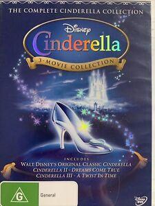 DVD: Walt Disney - The Complete Cinderella Collection (3-movie Set)
