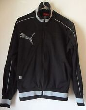 PUMA Men's JACKET Black & Gray, Zipper, Great Condition, Sz Large, Made In Japan