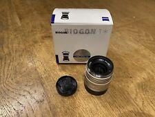Carl Zeiss Biogon T 35mm F2 ZM Lens - Leica M fit
