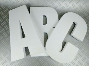3D Polystyrene Decorative Letters/Numbers - 1200mm high X 50mm thick