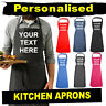 Personalised Kitchen Apron - Your Custom Text - cooking chef gift aprons