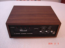 Vintage Cariole 8-Track Stereo Player Model 19860 for Parts/Repair