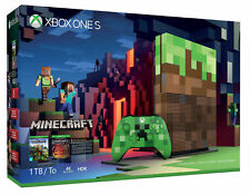 Microsoft 1TB Xbox One S Minecraft Limited Edition Bundle - Brand New (in stock)