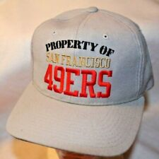 SF 49ERS Football Team Snapback Cap Hat Embroidered Logo Vintage 003