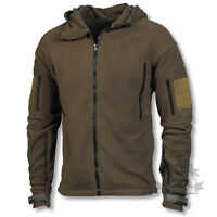 TACTICAL FLEECE MILITARY SPECIAL FORCES OLIVE GREEN ARMY MILITARY WARM HOODIE