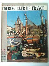 Touring Club De France de 7/1953; Route des vin d'Alsace/ Sud Marocain/ Maurienn