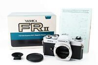 【EXC+5 IN BOX】Yashica FR II Full Auto Exposure 35mm SLR Film Silver Body #191138