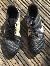Boys Nike Tiempo Football Boots Trainers Uk Size 5 Well Worn