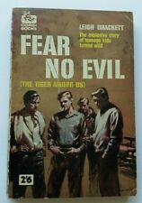 Leigh Brackett - Fear No Evil - Corgi Books SC902 1960 JD  Juvenile Delinquents
