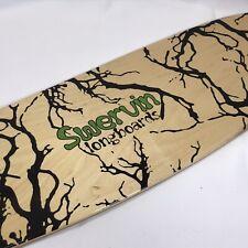 """SWERVIN Longboards - Wooden Longboard Skateboard Deck (37-3/4"""" X 9-1/2"""")"""